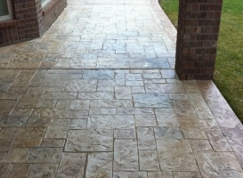 Houston Patio Concrete Image 16