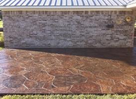 Houston Patio Concrete Image 9