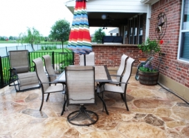 Houston Patio Flagstone Image 3