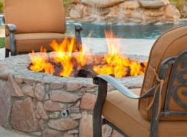 Houston Patio Outdoor Fireplace / Firepit Image 3