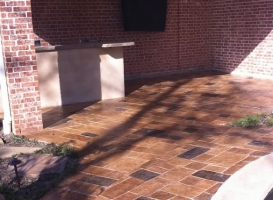 Houston Patio Concrete Image 15