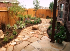 Houston Patio Flagstone Image 11