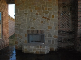 Houston Patio Outdoor Fireplace / Firepit Image 10