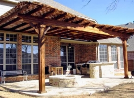 Houston Patio Outdoor Fireplace / Firepit Image 6