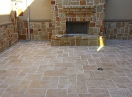 Houston Patio Outdoor Fireplace / Firepit Image 8
