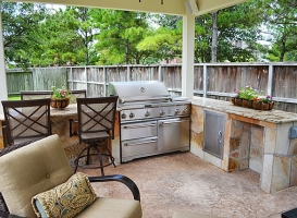 Houston Patio Outdoor Kitchens Image 13