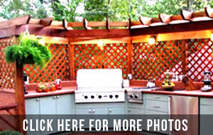 Houston outdoor kitchen